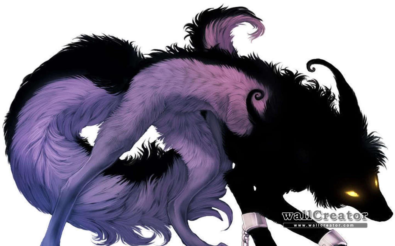 Злые волки картинки аниме 2